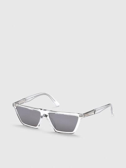 Diesel - DL0304, Blanco - Gafas de sol - Image 2