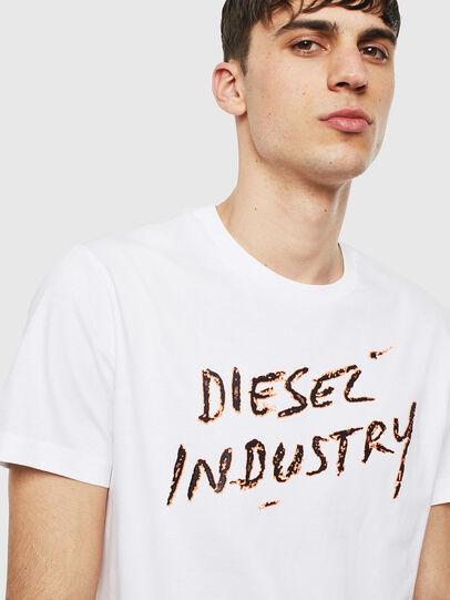 Diesel - T-DIEGO-S15, Blanco - Camisetas - Image 3