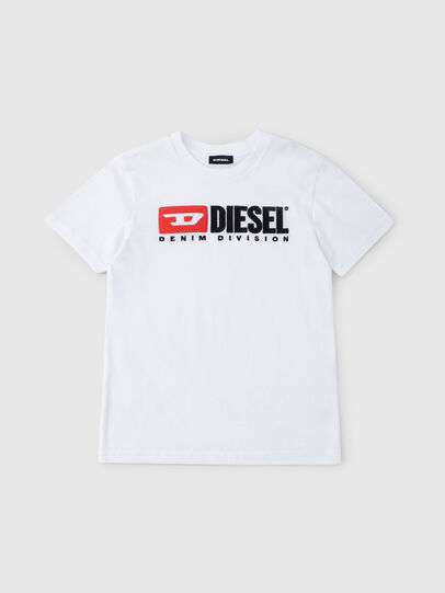 Diesel - TJUSTDIVISION, Blanco - Camisetas y Tops - Image 1