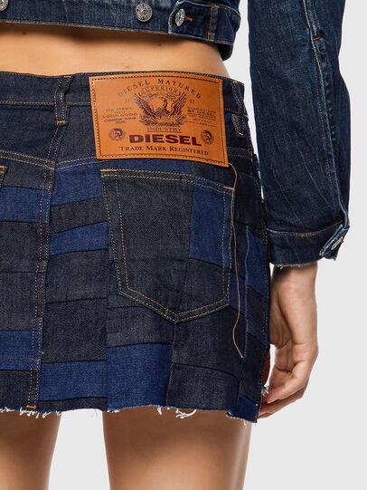 Diesel - DE-JEYJEY, Azul medio - Faldas - Image 3