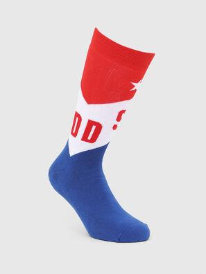 SKM-RAY, Azul/Rojo - Calcetines