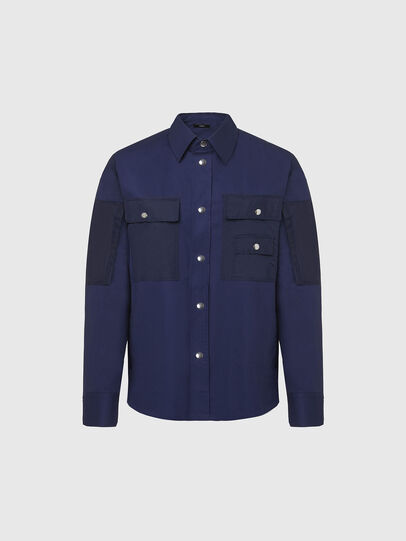 Diesel - S-AUSTIN, Azul - Camisas - Image 1