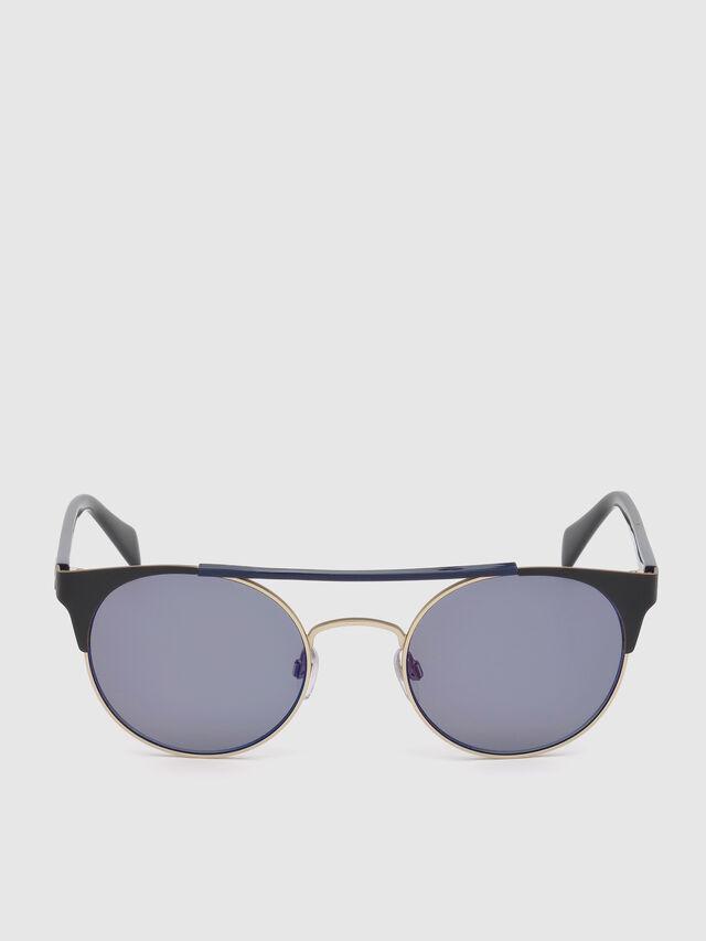 Diesel - DL0218, Negro/Azul - Gafas de sol - Image 1