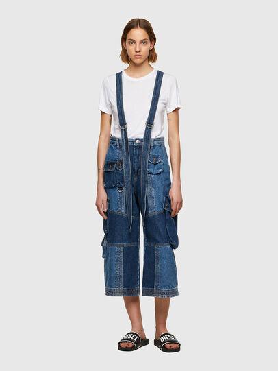 Diesel - DE-AMETHY, Azul medio - Pantalones - Image 1