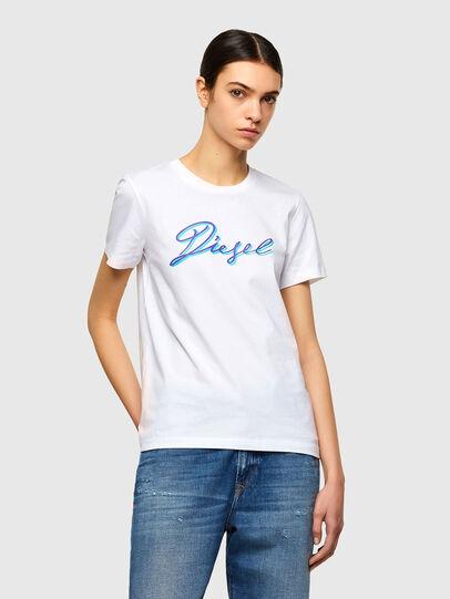 Diesel - T-SILY-K10, Blanco - Camisetas - Image 1