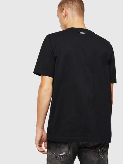 Diesel - T-JUST-J13, Negro - Camisetas - Image 2