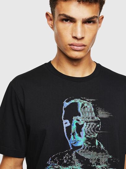 Diesel - T-JUST-J12, Negro - Camisetas - Image 3