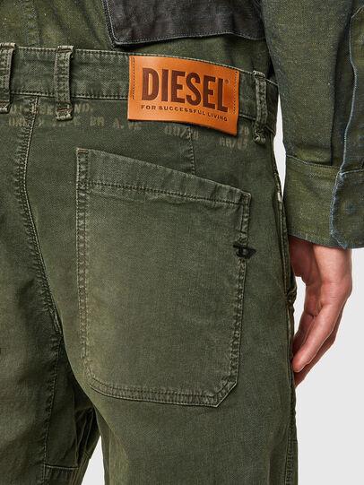 Diesel - D-Azerr JoggJeans® 069WH, Verde Militar - Vaqueros - Image 3