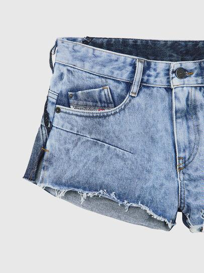Diesel - DE-RIMY, Azul Claro - Shorts - Image 3