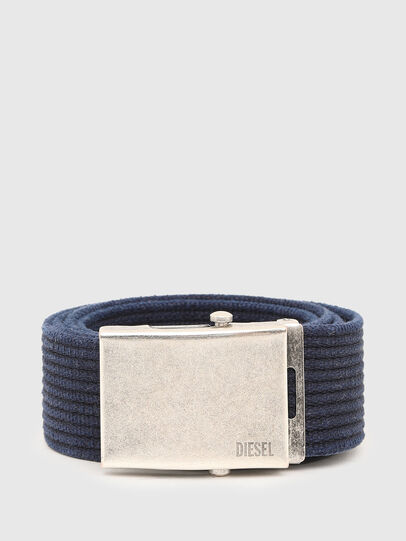 Diesel - B-COMBA, Azul - Cinturones - Image 1