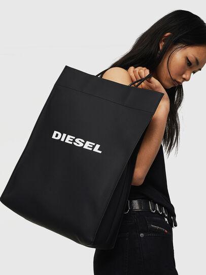 Diesel - SAKETTONE, Negro - Bolsos Shopper y Al Hombro - Image 6