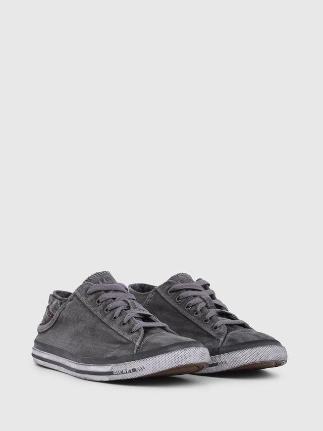 Diesel - EXPOSURE LOW I, Gris Metal - Sneakers - Image 2
