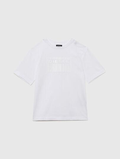 Diesel - TUDERCODE OVER, Blanco - Camisetas y Tops - Image 1