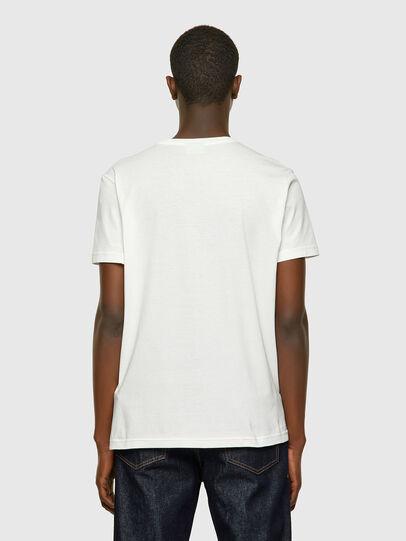 Diesel - T-DIEGOS-E2, Blanco - Camisetas - Image 2