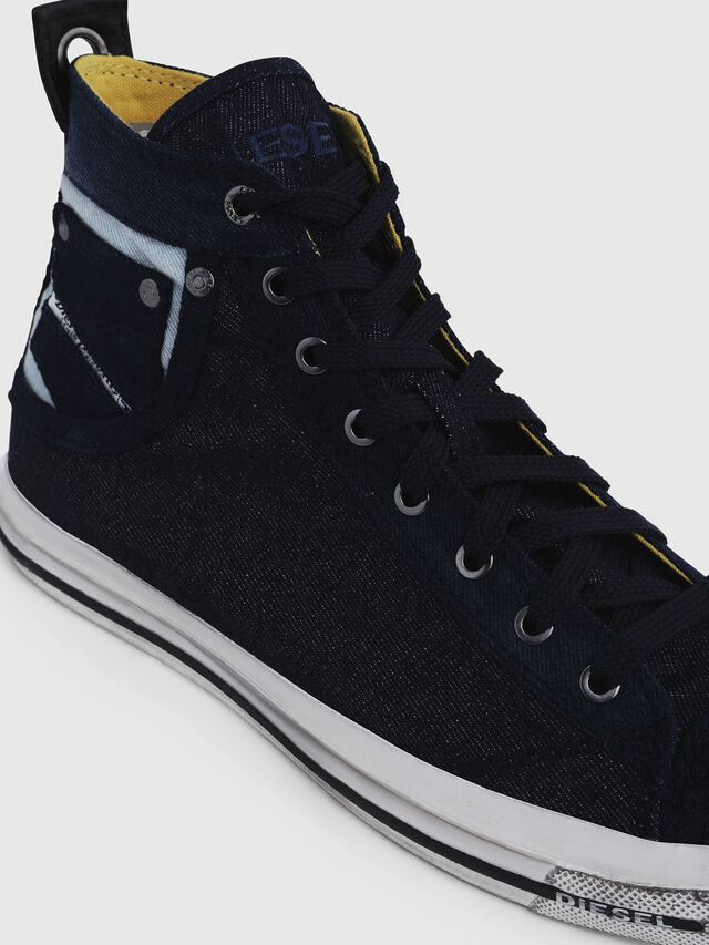 Diesel - EXPOSURE I, Azul Oscuro - Sneakers - Image 4