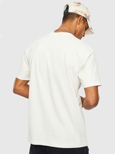 Diesel - T-JUST-T14, Blanco - Camisetas - Image 2