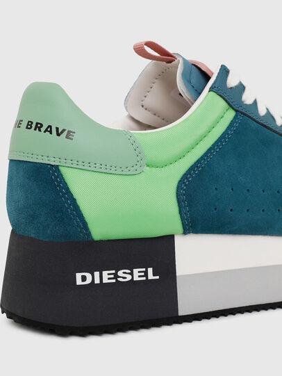 Diesel - S-PYAVE WEDGE, Verde/Azul - Sneakers - Image 4