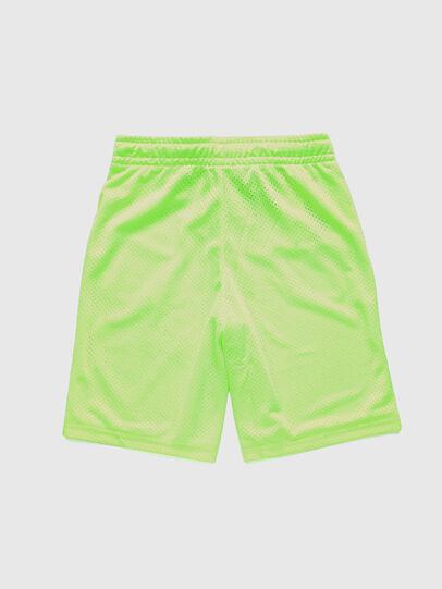 Diesel - PFRAKLE, Verde Fluo - Shorts - Image 2