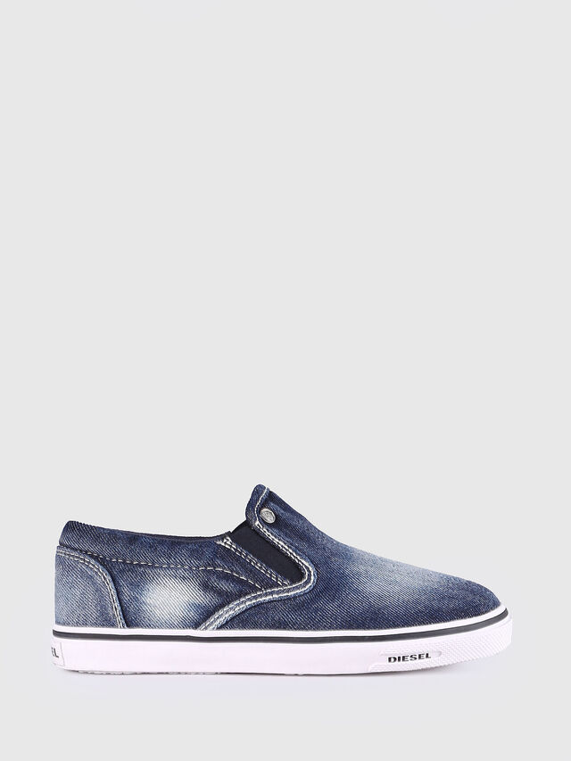 Diesel - SLIP ON 21 DENIM YO, Blue Jeans - Calzado - Image 1