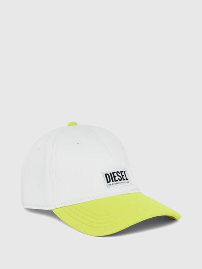 Diesel - DURBO, Blanco/Amarillo - Gorras - Image 1