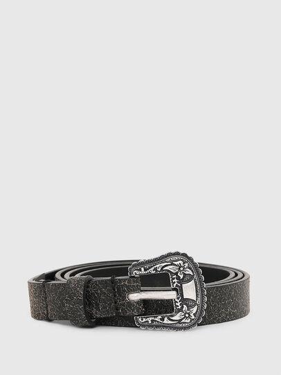 Diesel - B-TRIT, Negro - Cinturones - Image 1
