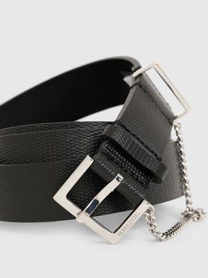 Diesel - B-MALIER, Negro - Cinturones - Image 2