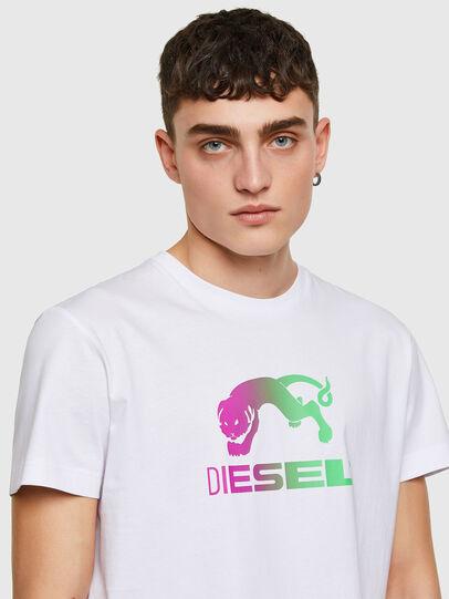 Diesel - T-DIEGOS-E30, Blanco - Camisetas - Image 3