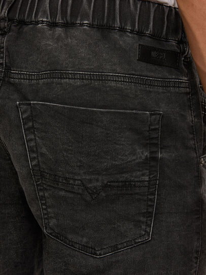 Diesel - Krooley JoggJeans 009FZ, Negro/Gris oscuro - Vaqueros - Image 4