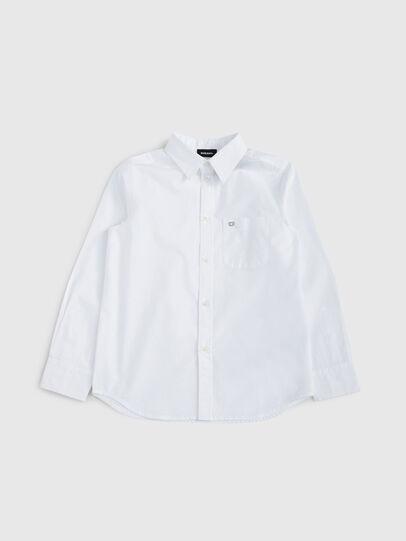 Diesel - CSMOI, Blanco - Camisas - Image 1