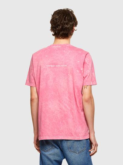 Diesel - T-JUST-E2, Rosa - Camisetas - Image 2