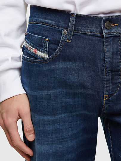 Diesel - D-Strukt JoggJeans® 069RX, Azul Oscuro - Vaqueros - Image 3