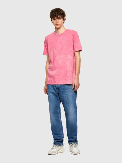 Diesel - T-JUST-E2, Rosa - Camisetas - Image 5