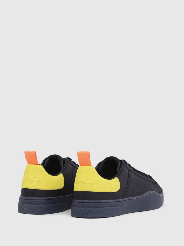 Diesel - S-CLEVER LOW, Negro/Amarillo - Sneakers - Image 3