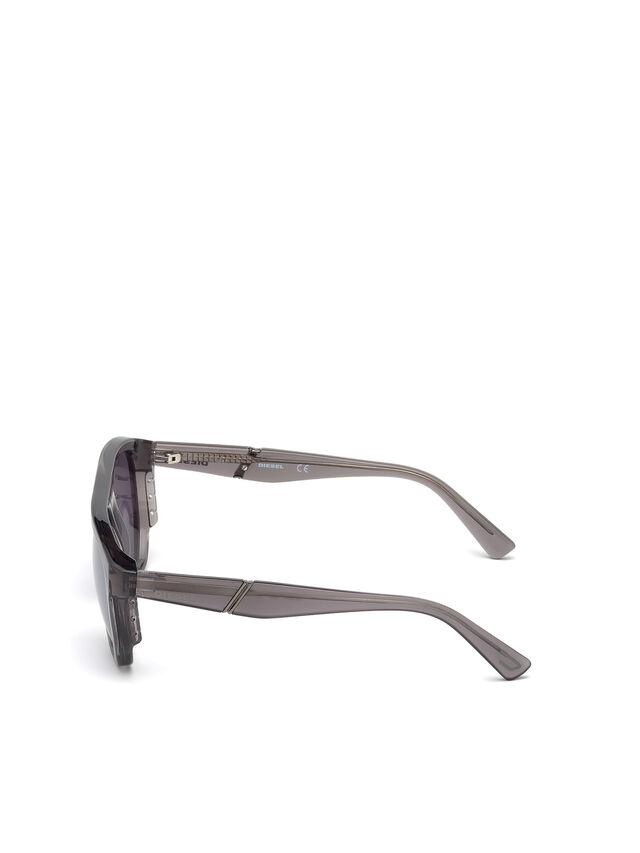 Diesel - DL0255, Gris - Gafas de sol - Image 3