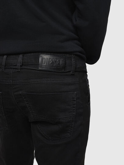 Diesel - Krooley JoggJeans 069JH, Negro/Gris oscuro - Vaqueros - Image 4