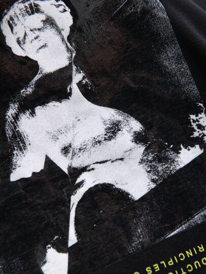 Diesel - TDESY, Negro - Camisetas y Tops - Image 3