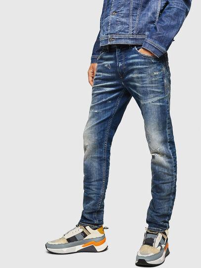 Diesel - Thommer JoggJeans 0870Q, Azul medio - Vaqueros - Image 4