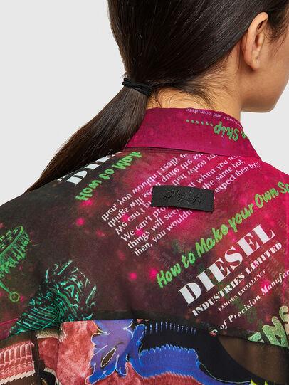 Diesel - C-CASEYL, Negro/Rosa - Camisas - Image 3