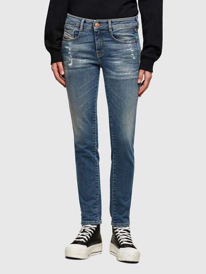 Diesel - D-Ollies JoggJeans® 069UW, Azul medio - Vaqueros - Image 1