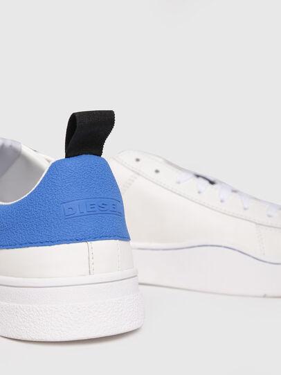 Diesel - S-CLEVER LOW, Blanco/Azul - Sneakers - Image 4