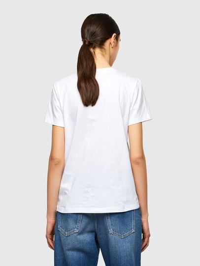 Diesel - T-SILY-K10, Blanco - Camisetas - Image 2