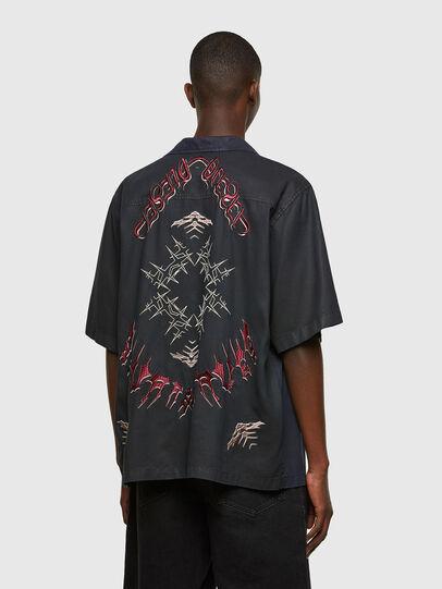 Diesel - D-MITCH-SP, Negro - Camisas - Image 2
