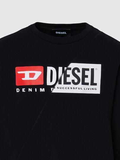 Diesel - S-GIRK-CUTY, Negro - Sudaderas - Image 3