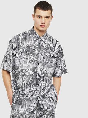 S-WED-KAOS, Negro/Blanco - Camisas