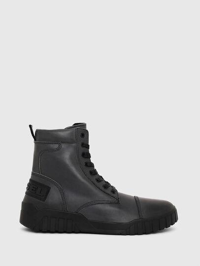 Diesel - H-RUA AM, Azul Oscuro - Sneakers - Image 1