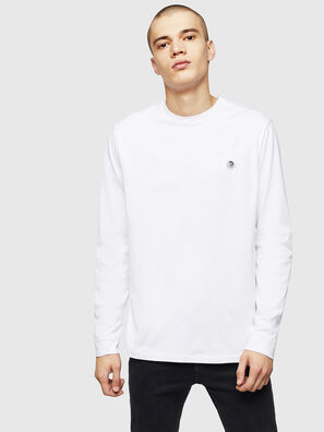 T-JUSTY-LS, Blanco - Camisetas