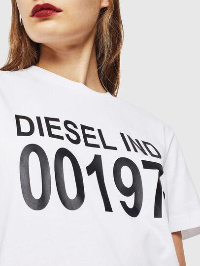 Diesel - T-DIEGO-001978, Blanco - Camisetas - Image 5