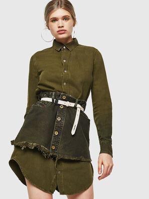 DE-DESY-Z, Verde Militar - Vestidos