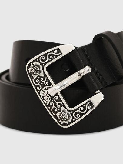 Diesel - B-MEXY, Negro - Cinturones - Image 2