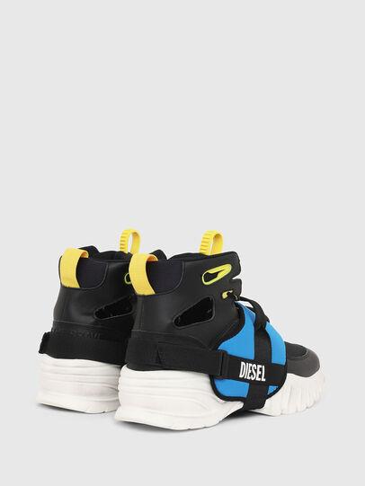 Diesel - S-SHARQUEZ MID, Negro - Sneakers - Image 3